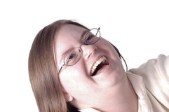 2 śmiech Zdjęcia Stock