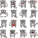2 śmiesznej myszy Zdjęcia Royalty Free
