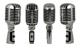 2 mikrofonu Zdjęcie Royalty Free
