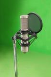 2 mikrofonu Obrazy Stock
