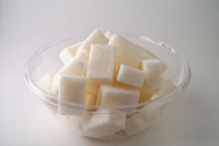 2 misek cukru Zdjęcia Stock