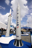 2 missile d'affichage de 3 flèches Image stock