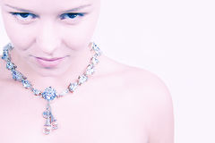 2 mitt halsband Arkivfoto