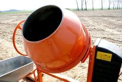 2 mixer cementowy Fotografia Royalty Free