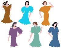 2 mod kobieta Zdjęcia Royalty Free