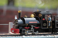 2 modela pociąg Obrazy Royalty Free