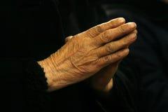 2 modlitwa Zdjęcie Stock