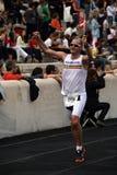 2? Momentos clássicos da maratona de Atenas Foto de Stock