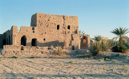 2 moroccan gammala för hus Fotografering för Bildbyråer