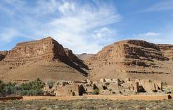 2 moroccan wioska zdjęcie royalty free