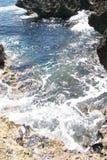 2 morze piaskowe Zdjęcia Royalty Free