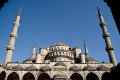 2 moschea błękitny sultanahmet Obraz Stock