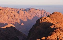 2 moses berg Arkivbilder