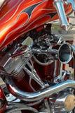 2 motor v Royaltyfri Fotografi