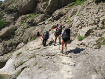 2 mountaineering Zdjęcia Stock
