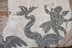 2 mozaika caracalla Zdjęcie Royalty Free