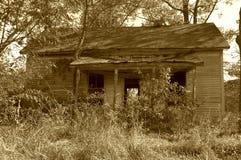 2 nawiedzony dom Fotografia Stock