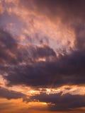 2 niebo Zdjęcia Stock