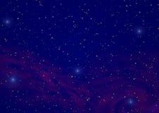 2 nocne niebo ilustracji
