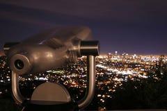 2 nocy teleskop fotografia royalty free