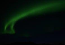 2 nordliga lampor Royaltyfri Fotografi
