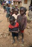 2 Nov. 2008. Vluchtelingen van DR. de Kongo Stock Afbeelding