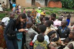 2. November 2008. Flüchtlinge von Dr der Kongo Stockbilder