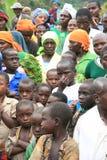 2. November 2008. Flüchtlinge von Dr der Kongo Stockfotografie