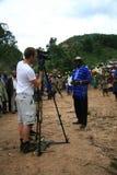 2 novembre 2008. Rifugiati dal Dott Congo Immagine Stock Libera da Diritti
