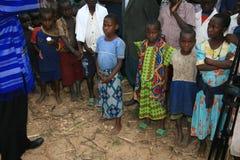 2 novembre 2008. Rifugiati dal Dott Congo Immagine Stock