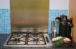 2 nowoczesnego kuchenne Zdjęcia Royalty Free