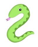2 numerowy wąż ilustracji