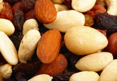 2 nuts различного Стоковые Фото