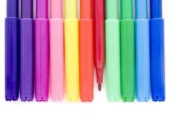 2 nya pennor Fotografering för Bildbyråer