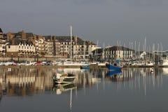 2 łodzi malahide marina Zdjęcie Royalty Free