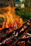 2 ogień Zdjęcia Royalty Free
