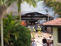 2 ogienia parkowy shailer Fotografia Stock