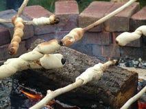 2 ognisko chlebów Zdjęcia Stock