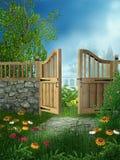 2 ogrodowa wiosna ilustracji