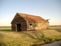 2 opuszczonej stodole Zdjęcia Stock