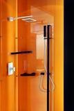 2 orange dusch Arkivbild
