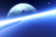 2 orbitum Zdjęcie Royalty Free