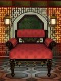 2 Oriental pokój royalty ilustracja