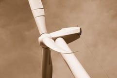 2 ostrzy energii wiatr Zdjęcia Royalty Free