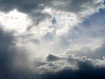 2 ovannämnda himmlar Arkivfoto