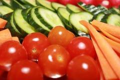 2 półkowy warzywo Fotografia Stock