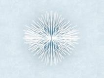 2 płatek śniegu Obraz Royalty Free