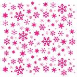 2 płatka śniegu Obrazy Royalty Free
