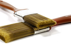 2 paintbrushes Стоковые Изображения RF