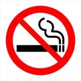 2 palenie zabronione wektor Obrazy Stock